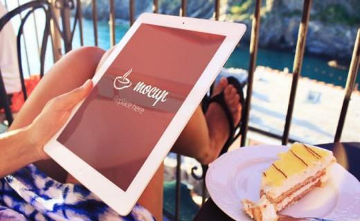Mockup-iPad-in-summer-style