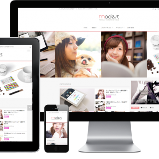 WordPressテーマ MODEST